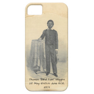"""Thomas """"Blind Tom"""" Wiggins, 1859 iPhone 5 Cover"""