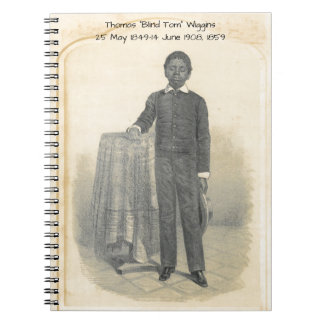 "Thomas ""Blind Tom"" Wiggins, 1859 Notebooks"