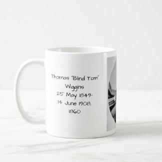 """Thomas """"Blind Tom"""" Wiggins, 1860 Coffee Mug"""