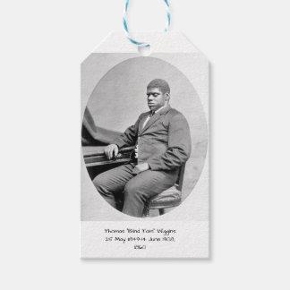 "Thomas ""Blind Tom"" Wiggins, 1860 Gift Tags"