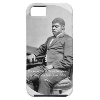 """Thomas """"Blind Tom"""" Wiggins, 1860 iPhone 5 Cover"""