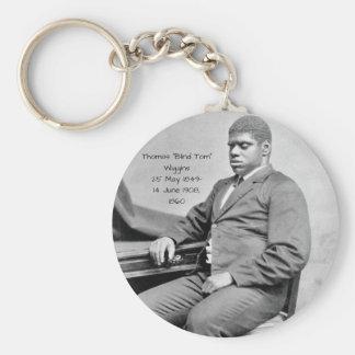"Thomas ""Blind Tom"" Wiggins, 1860 Keychain"