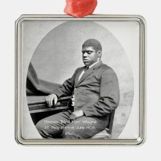 "Thomas ""Blind Tom"" Wiggins, 1860 Metal Ornament"