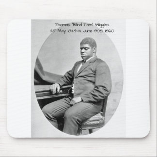 "Thomas ""Blind Tom"" Wiggins, 1860 Mouse Pad"
