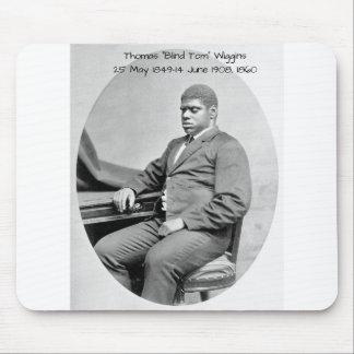"Thomas ""Blind Tom"" Wiggins, 1860 Mouse Pad"