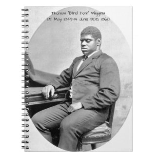 "Thomas ""Blind Tom"" Wiggins, 1860 Notebook"