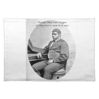 "Thomas ""Blind Tom"" Wiggins, 1860 Placemat"