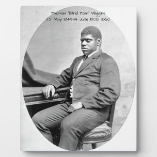 "Thomas ""Blind Tom"" Wiggins, 1860 Plaque"