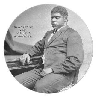 "Thomas ""Blind Tom"" Wiggins, 1860 Plate"