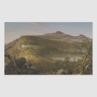 Thomas Cole - A View of the Two Lakes and Mountain