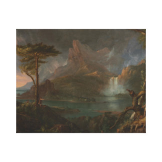Thomas Cole - A Wild Scene Canvas Print