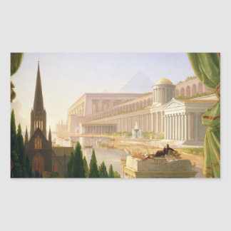 Thomas Cole - Architect's Dream Sticker