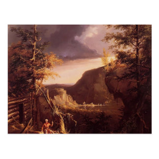 Thomas Cole- Daniel Boone Sitting at the Door Postcard