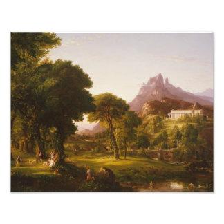 Thomas Cole - Dream of Arcadia Art Photo