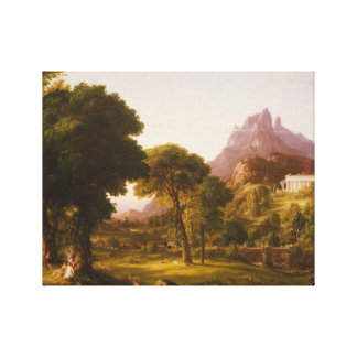Thomas Cole - Dream of Arcadia Canvas Print