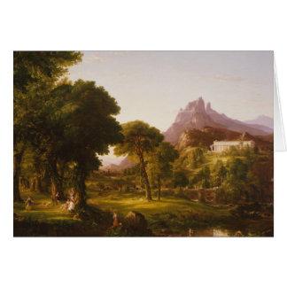 Thomas Cole - Dream of Arcadia Card