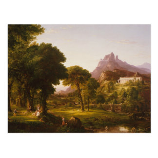 Thomas Cole - Dream of Arcadia Postcard