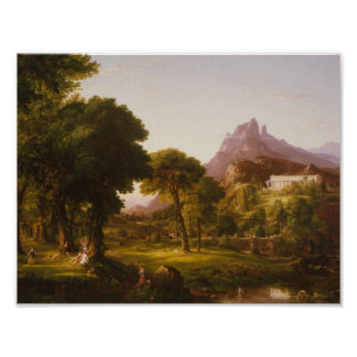 Thomas Cole - Dream of Arcadia Poster
