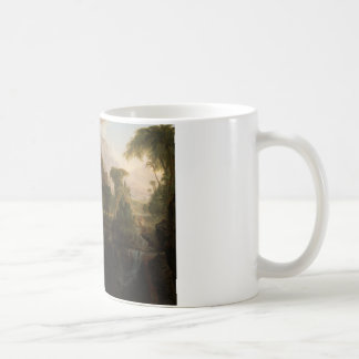 Thomas Cole - Expulsion from the Garden of Eden Classic White Coffee Mug