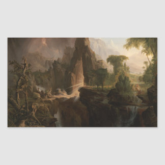 Thomas Cole - Expulsion from the Garden of Eden Sticker
