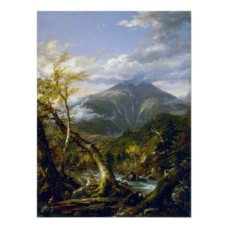 Thomas Cole Indian Pass Poster