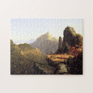 Thomas Cole Painting jigsaw Puzzle