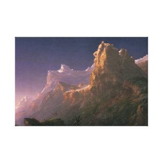 Thomas Cole - Prometheus Bound Canvas Print