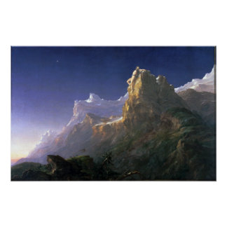 Thomas Cole Prometheus Bound Poster