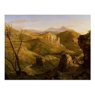 Thomas Cole-The Vale and Temple of Segeste, Sicily Postcard