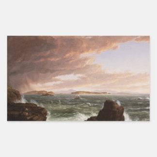 Thomas Cole - Views Across Frenchman's Bay Sticker