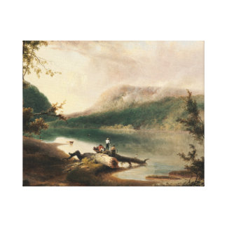 Thomas Doughty - Delaware Water Gap Canvas Print