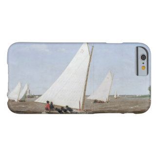 Thomas Eakins - Sailboats Racing on the Delaware Barely There iPhone 6 Case