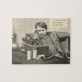 Thomas Edison Needs Bandwidth Jigsaw Puzzle