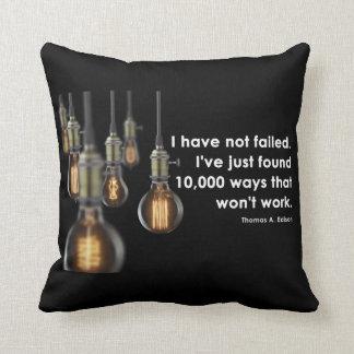 Thomas Edison Pillow