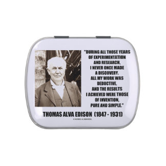 Thomas Edison Results Invention Pure Simple Quote