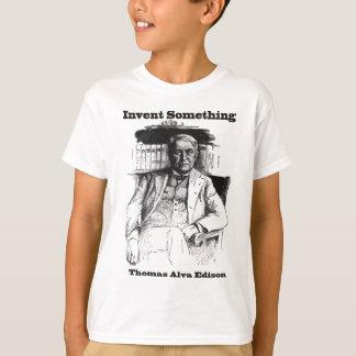 Thomas Edison Sketch - Invent Something T-Shirt