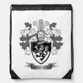 Thomas Family Crest Drawstring Bag