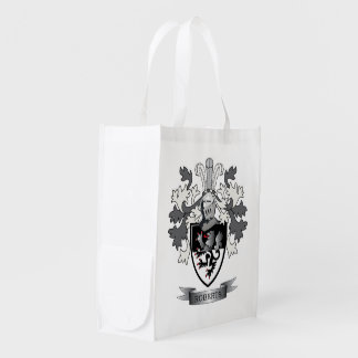Thomas Family Crest Grocery Bag