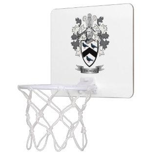Thomas Family Crest Mini Basketball Hoop