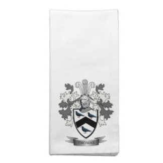 Thomas Family Crest Napkin