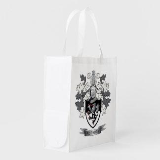 Thomas Family Crest Reusable Grocery Bag