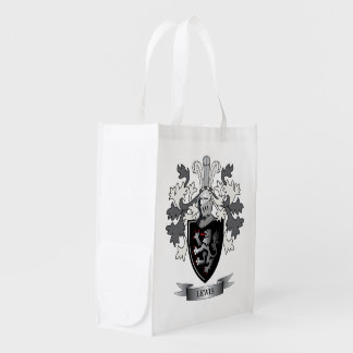 Thomas Family Crest Reusable Grocery Bags