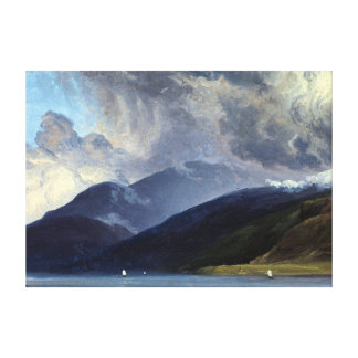 Thomas Fearnley From Balestrand at the Sognefjord Canvas Print