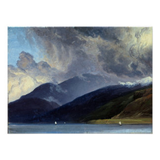 Thomas Fearnley From Balestrand at the Sognefjord Poster