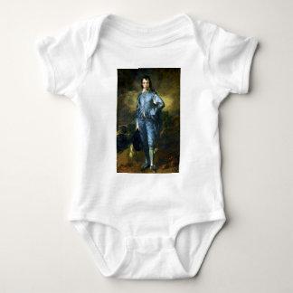 Thomas Gainsborough Art Painting: The Blue Boy Baby Bodysuit