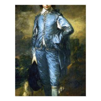 Thomas Gainsborough Art Painting: The Blue Boy Letterhead