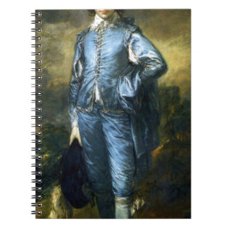 Thomas Gainsborough Art Painting: The Blue Boy Notebook