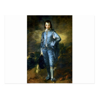 Thomas Gainsborough Art Painting: The Blue Boy Postcard