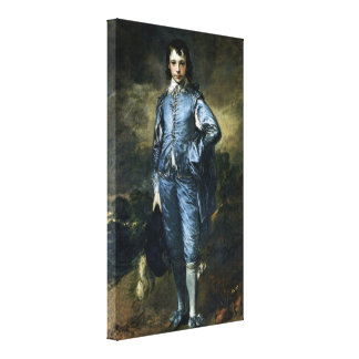 Thomas Gainsborough - Boy in Blue Canvas Print