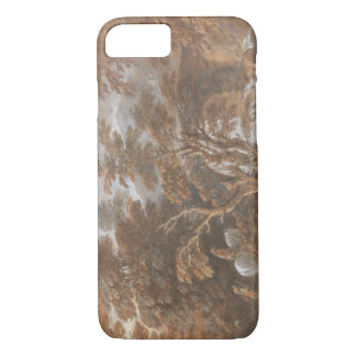 Thomas Gainsborough - Hilly Landscape with Figures iPhone 7 Case